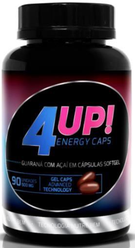 Energético Açaí com Guaraná 4UP - 90 Cáps Gel - Ekobé