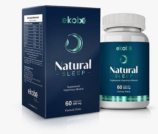 Natural Sleep 60 Cáps 500 mg- Ekobé