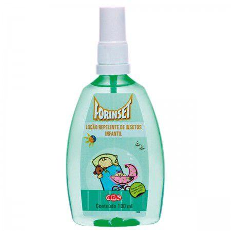 Loção Repelente Infantil 100 ml Spray- Forinset
