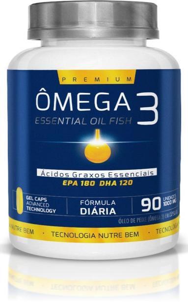 Omega 3 Premium 90 Cáps 1000 mg- Ekobé