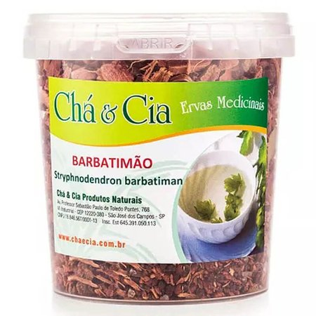 Barbatimão- Barbatiman- Pote 100 grs- Cha e Cia