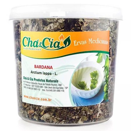Bardana- Arctium Lappa - Pote 60 grs- Cha e Cia
