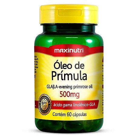 Óleo de Prímula 60 Cápsulas 500 mg- Maxinutri