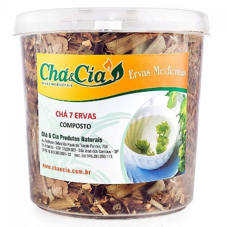 Chá 7 Ervas - Pote 60 grs- Cha e Cia