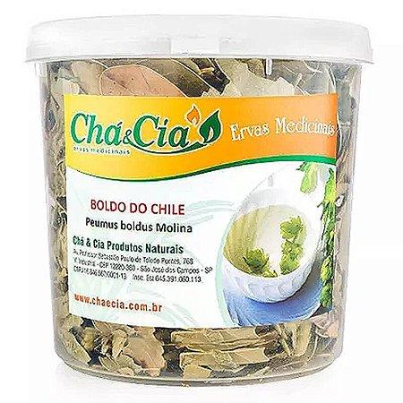 Boldo do Chile- Peumus Boldus- Pote 60 grs- Cha e Cia