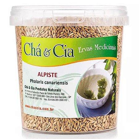 Alpiste - Phalaris Canariensis- Pote 150 gr- Cha e Cia