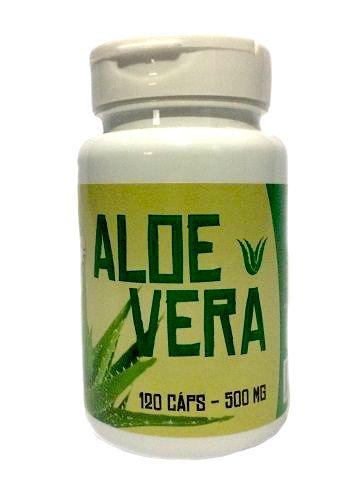 Aloe Vera 120 Cápsulas 500 mg- Ninho Verde