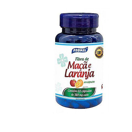 Fibra de Maçã e Laranja 60 Cáps 480 mg - Promel