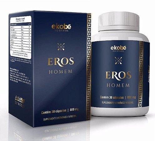 Saúde Sexual do Homem Eros 30 Cáps - Ekobé