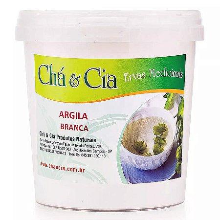 Argila Branca- Pote 100 grs - Cha e Cia