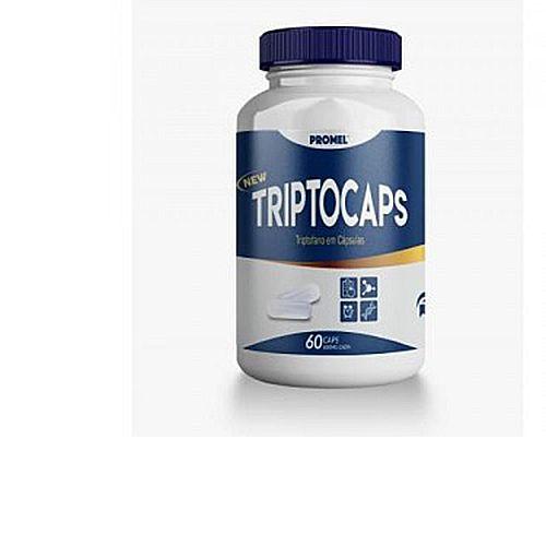 Triptocaps -Triptofano 600 mg -60 cápsulas - Promel