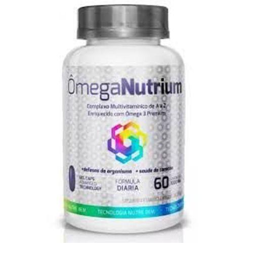 Omega Nutrium Complexo Vitaminico A a Z - 60 Caps- Ekobé