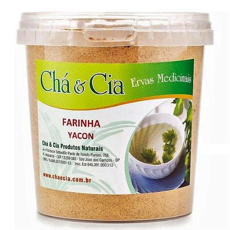 Farinha de Yacon- Pote 150 grs- Cha e Cia