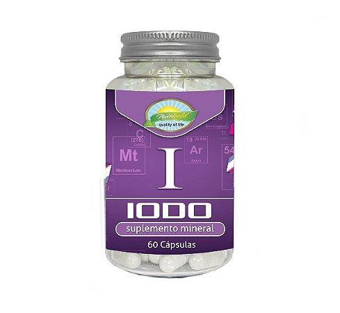 Iodo 60 Cápsulas 650 mg- Nutrigold