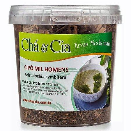 Cipo Mil Homens- Aristolochia Cymbifera- Pote 100 grs- Cha e Cia