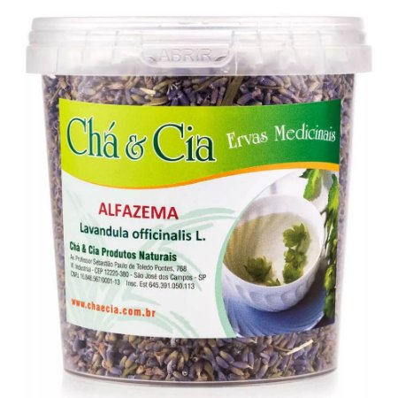 Alfazema-Lavandula Officinalis-Pote 60 grs-Cha e Cia
