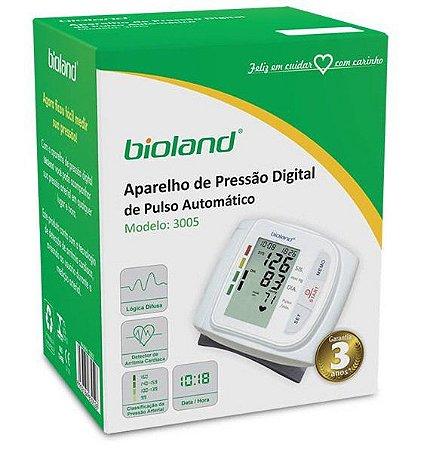 Aparelho Pressão Digital Pulso- Bioland
