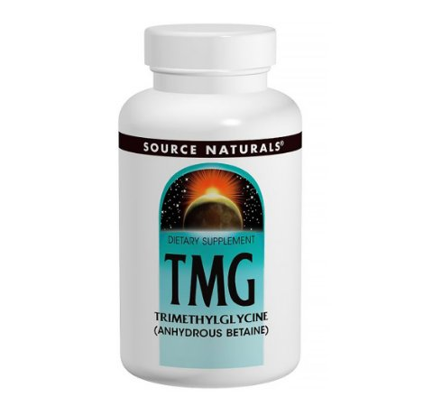 TMG (Trimetilglicina) 750mg 60 Comprimidos-Source Naturals
