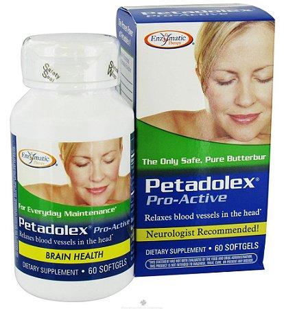 PETADOLEX PRO-ACTIVE 60 Cápsulas de Gel- Enzymatic Therapy