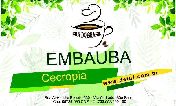 Embauba - Cecropia - 250 gr - Cha do Brasil