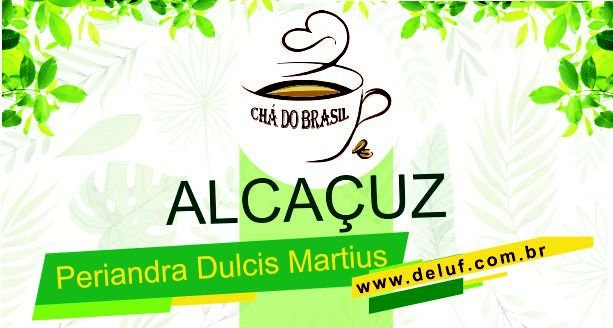 Alcaçuz (Periandra Dulcis) 250grs  Cha do Brasil