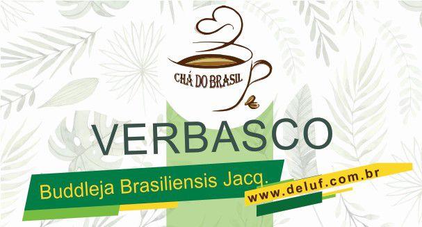 Verbasco- Buddleja Brasiliensis - 500 gr. - Cha do Brasil