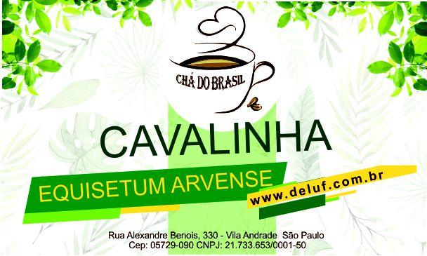Cavalinha - Equisetum Arvense- 250 grs- Cha do Brasil