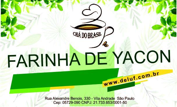 Farinha de Yacon- 250 grs- Cha do Brasil