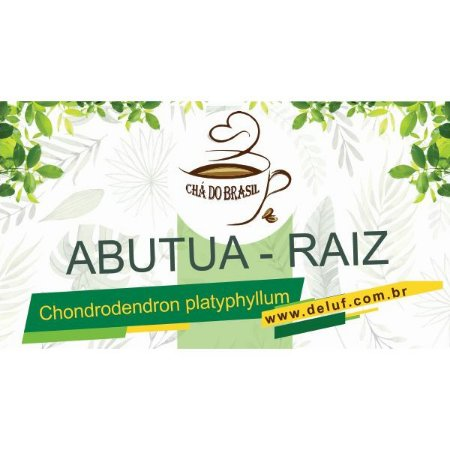 Abutua - Chondrodendron Platyphyllum - 250 grs - Cha do Brasil