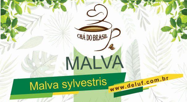 Malva - Malva Sylvestris - 250 grs - Cha do Brasil