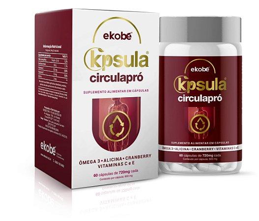 Kpsula Circula Pró - 60 Capsulas - Ekobé