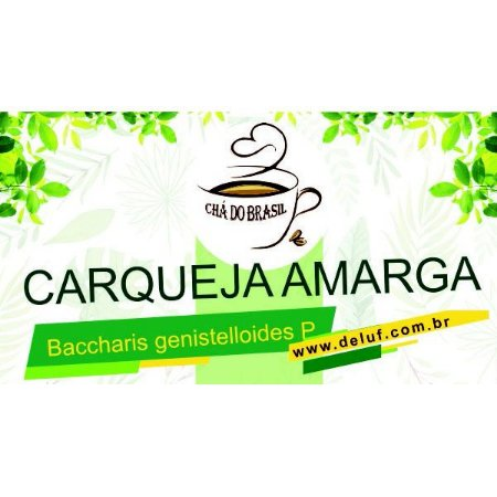Carqueja Amarga - Baccharis Genistelloides - 250 grs - Cha do Brasil