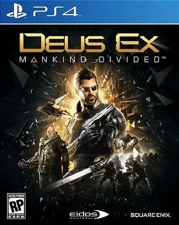 Jogo Deus Ex: Mankind Divided - Playstation 4 / Aventura-ação - Pré-venda