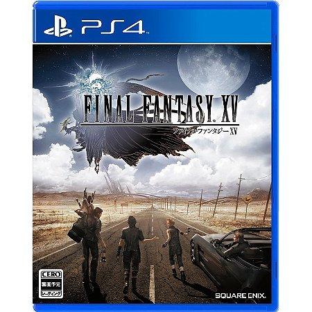 Jogo Final Fantasy XV - Playstation 4 - PLAY 4 - PS4 / RPG - Pré-venda
