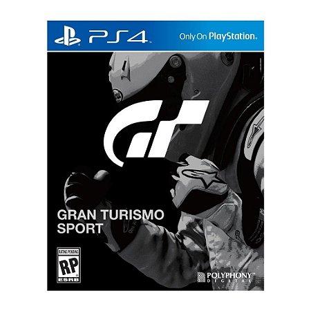 JOGO Gran Turismo Sport - Playstation 4 - PLAY 4 - PS4 / Corrida - Pré-venda