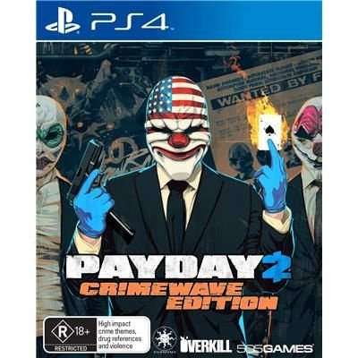 JOGO Payday 2: Crimewave Edition - Playstation 4 - PLAY 4 - PS4 / FPS