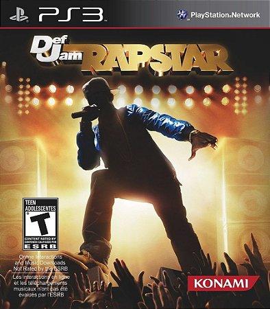 JOGO Def Jam Rapstar - PS3 - Música - Usado