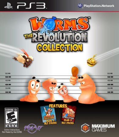 JOGO Worms The Revolution Collection - PS3