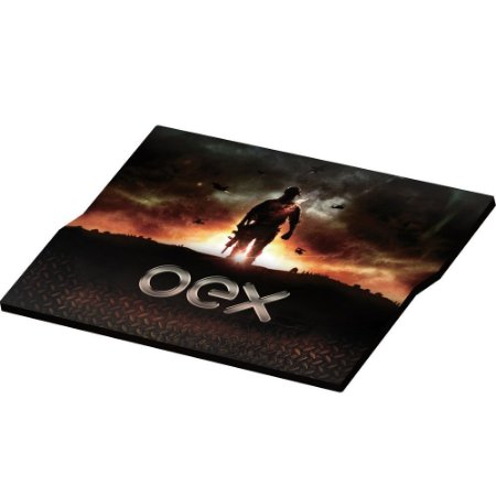 Mousepad Gamer Oex Action Tecnologia AntiSkid MP300