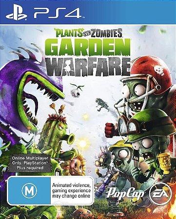 JOGO Plants Vs Zombies: Garden Warfare - PS4 - PLAY 4 - PLAYSTATION 4