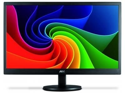 "MONITOR 18,5"" LED AOC - 200 CD/M2 DE BRILHO"