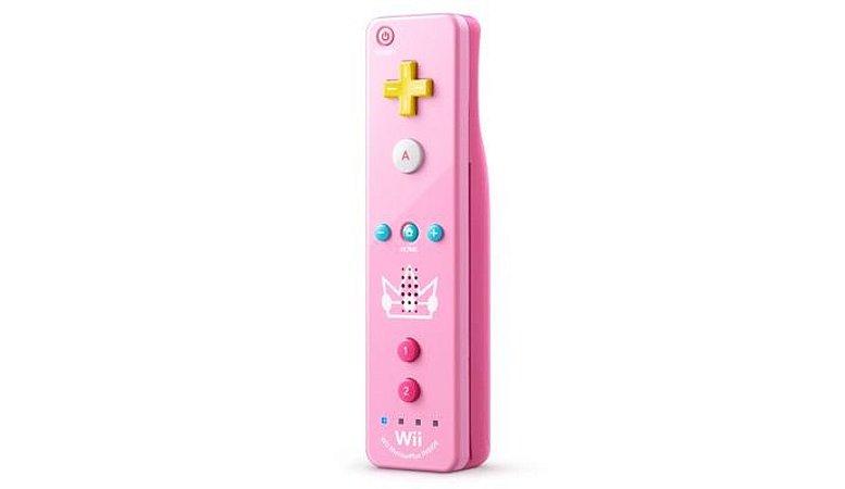 Wii Remote Plus (Rosa - Edição Peach) - Wii / Wii U