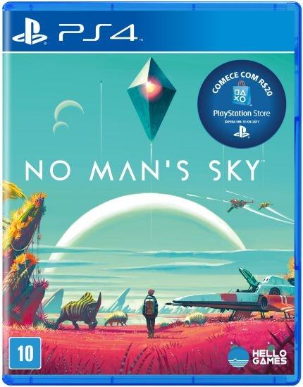 Jogo No Man's Sky - PS4 - PLAY 4 - PLAYSTATION 4 - Aventura/exploração