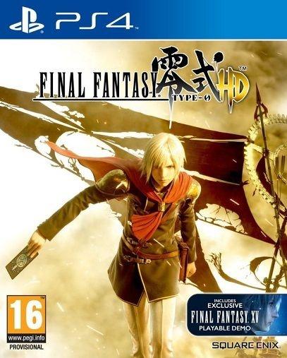 Jogo Final Fantasy Type 0 HD - PS4 - PLAY 4 - PLAYSTATION 4 / RPG