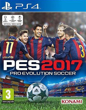 JOGO PES 2017 - PLAY 4 - PS4 - PLAYSTATION 4