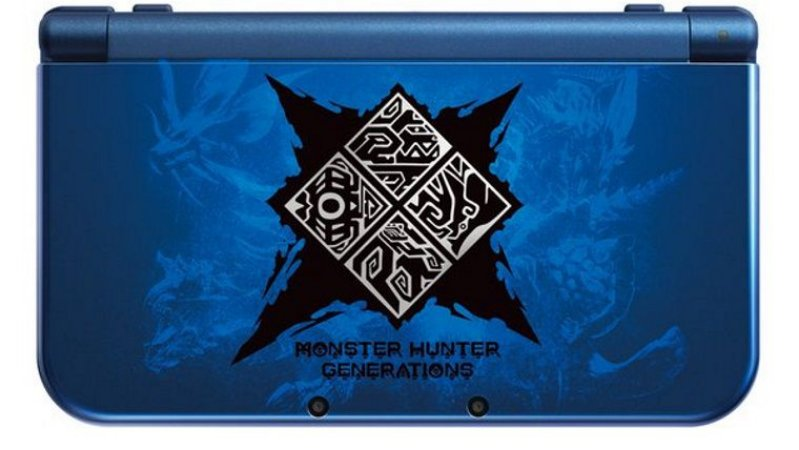Console Nintendo 3DS XL Monster Hunter Generation Edition