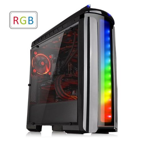 Computador V-gamer Techno - Intel Core i7, B250, 16GB DDR4, Gtx 1060 6GB, HD 1TB, 600W 80 Plus, Versa C21 Rgb