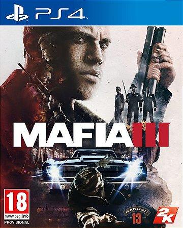 Game Mafia III - PS4  - Play 4 - Playstation 4