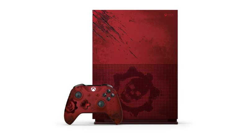 Console Xbox One 2TB Gears of War 4 Limited Edition Microsoft