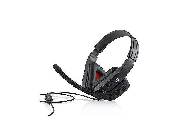Headset Gamer C3 Tech Predator com Microfone MI-2558 RB